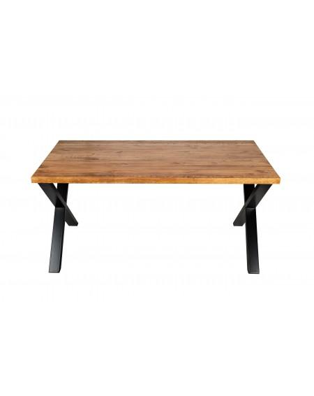 Stół drewniany z metalowymi nogami - 31 Stoły