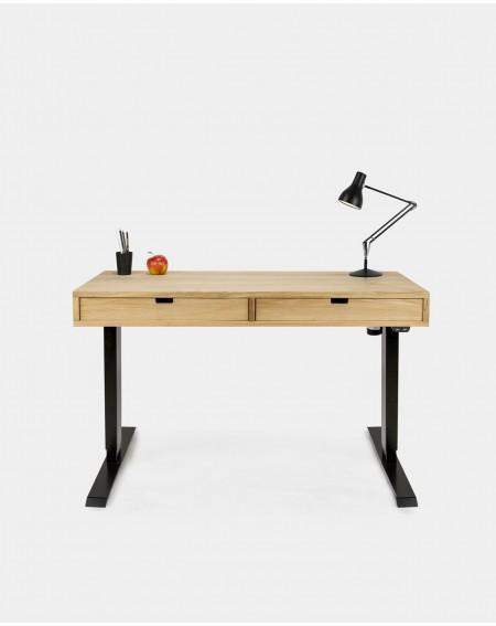 Loftowe biurko z regulowaną wysokością z szufladami - 254 Biurka Loftowe