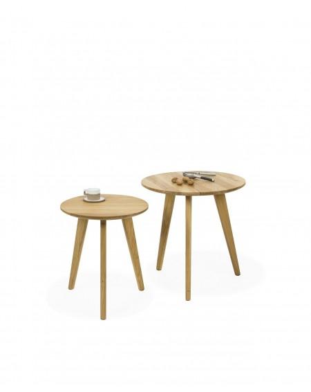Komplet Stolików okrągłych W Stylu Skandynawskim - 261 Stoliki kawowe