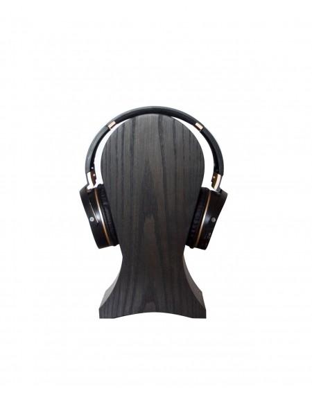 Stojak Na Słuchawki Jesion Kolor Czarny - 299 Biurka Loftowe