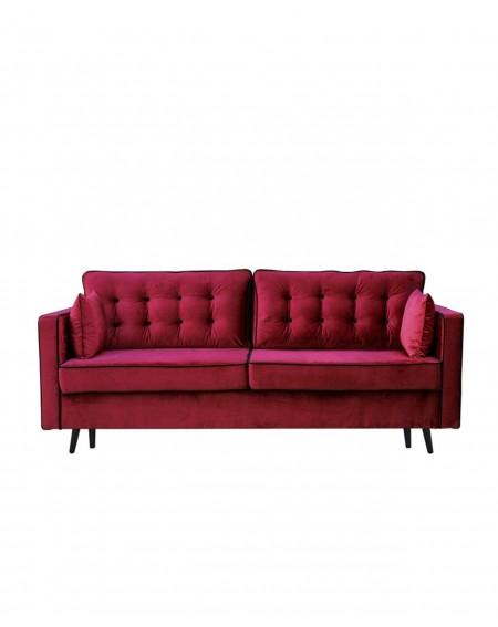 Sofa Glamour Pikowana 3 - Osobowa - 320 Kanapy i sofy