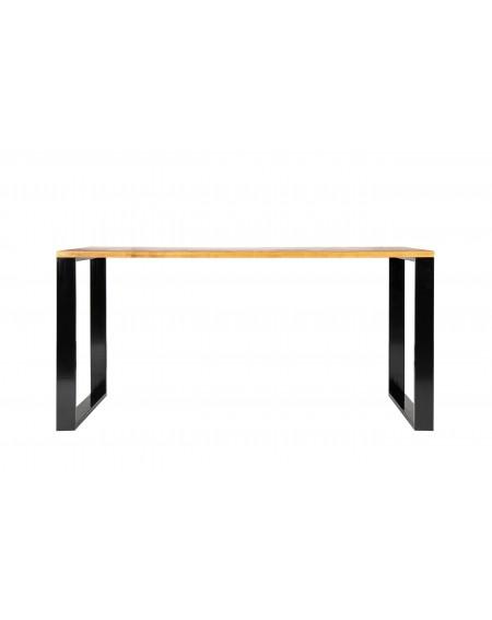 Biurko loftowe - drewniany blat i metalowa rama - 7 Biurka Loftowe