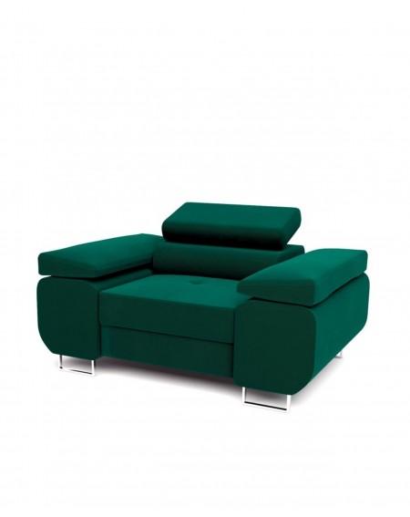 Fotel Green Z Regulowanymi Zagłówkami - 351 Fotele i pufy