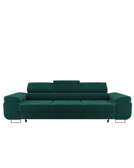 Sofa Green 3 - Osobowa Z Regulowanymi Zagłówkami - 352 Kanapy i sofy