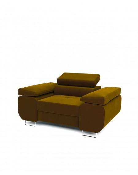 Fotel Gold Z Regulowanymi Zagłówkami - 356 Fotele i pufy