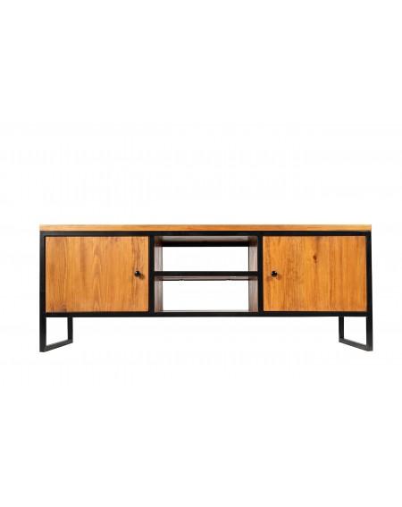Szafka pod RTV drewniana w stylu loftowym / industrialnym - 18 Szafki RTV