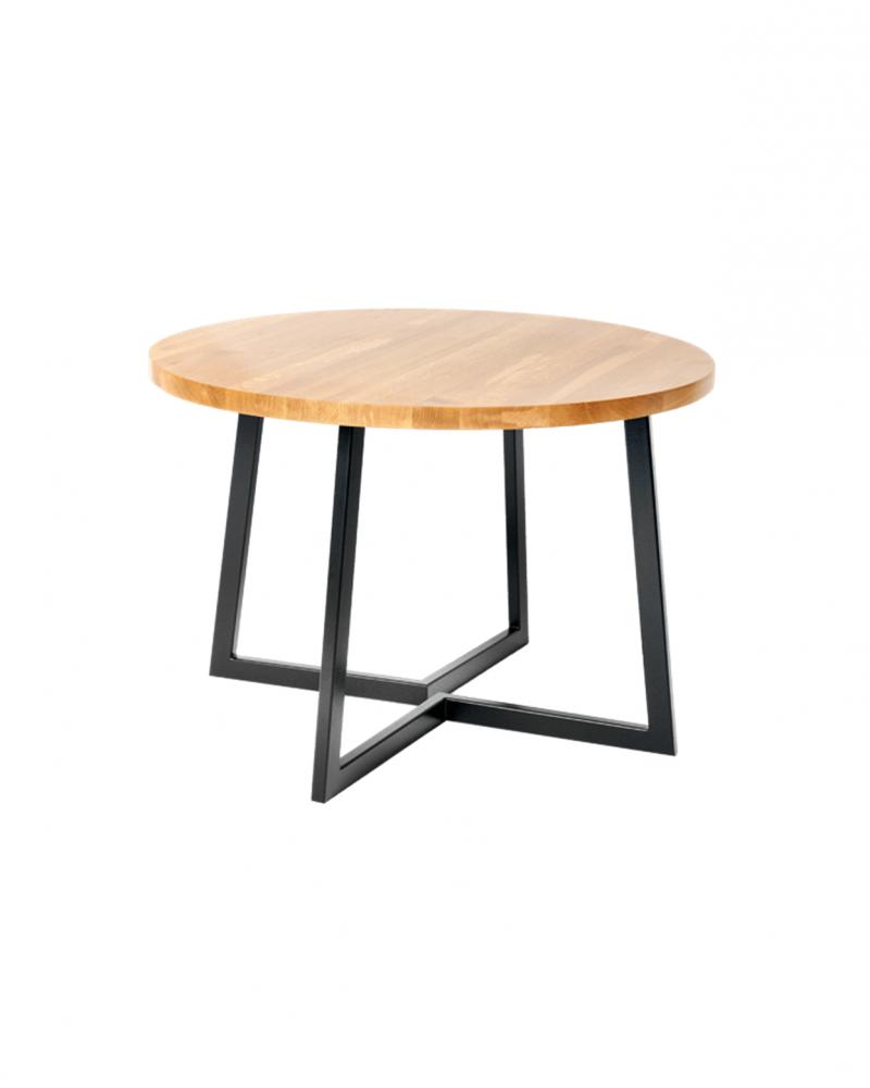 Okrągły Stół do jadalni w stylu loftowym - 115 Stoły