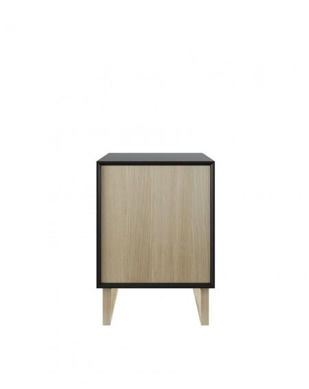 Industrialna Komoda Dębowa Box Wood II - 136 Komody loftowe