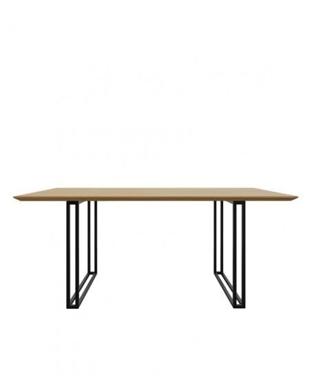 Loftowy Stół Dębowy Wood - 143 Stoły