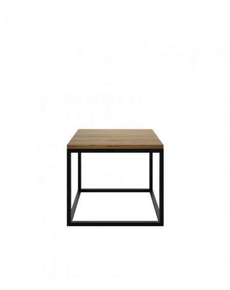 Industrialny Stolik Kawowy Wood - 145 Stoliki pod laptopa