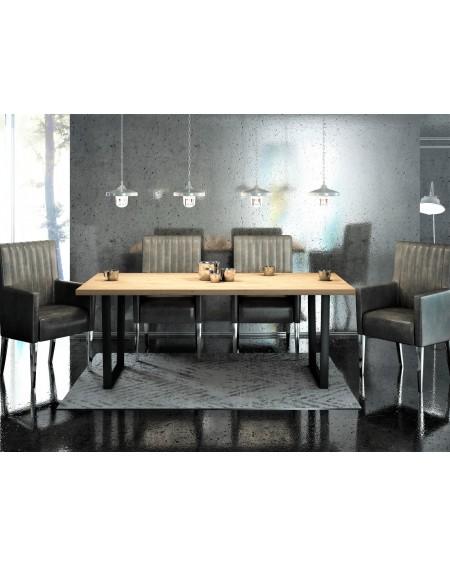 Stół Dębowy Loft II - 160 Stoły