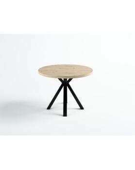 Okrągły stół dębowy Loft II - 167 Stoły
